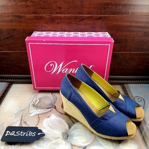 Women's Blue Wanted Shoes Size 7.5